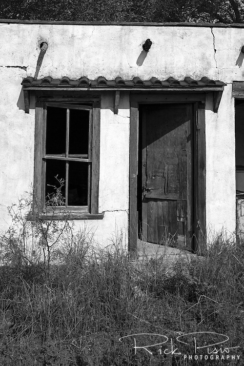 Motel Ruins in Newkirk, New Mexico