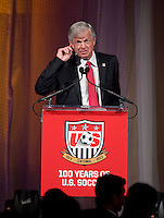 Bob Gansler. US Soccer held their Centennial Gala at the National Building Museum in Washington DC.