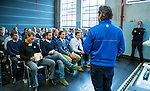 UTRECHT - Nationaal Golf Congres en Beurs 2017. NVG  motto: Like to Play & Love to stay.  Workshop de ideale golfschool. John Boerdonk en Alexander Renders. FOTO © Koen Suyk