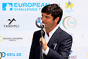 Anar Mammadov, European Challenge Tour, Azerbaijan Golf Challenge Open 2014, Azerbaijan National Golf Club, Quba, Azerbaijan. (Picture Credit / Phil Inglis)