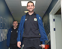 Blackburn Rovers' Charlie Mulgrew arrives at the ground<br /> <br /> Photographer Rachel Holborn/CameraSport<br /> <br /> The EFL Sky Bet League One - Blackburn Rovers v Shrewsbury Town - Saturday 13th January 2018 - Ewood Park - Blackburn<br /> <br /> World Copyright &copy; 2018 CameraSport. All rights reserved. 43 Linden Ave. Countesthorpe. Leicester. England. LE8 5PG - Tel: +44 (0) 116 277 4147 - admin@camerasport.com - www.camerasport.com