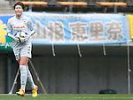 Erina Yamane (JEF Ladies), APRIL 4, 2015 - Football /Soccer : Plenus Nadeshiko League 2015 between Urawa Reds Ladies 0-1 JEF United Ichihara Chiba Ladies at Fukuda Denshi Arena, Chiba, Japan. (Photo by Sho Tamura/AFLO SPORT) [1180]