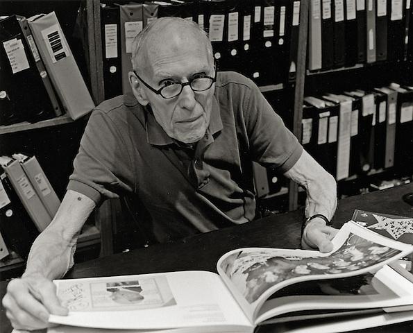 Barney Rosset, 2006.  Editor, Publisher.