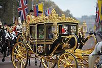 LONDRES-INGLATERRA -1-NOVIEMBRE-. Durante su Visita de Estado, el Presidente Juan Manuel Santos llega al Palacio de Buckingham.  During his state visit, President Juan Manuel Santos arrives at Buckingham Palace.Foto : Juan Tena - SIG