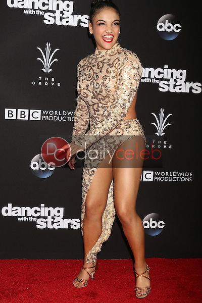 """Laurie Hernandez<br /> at the """"Dancing With The Stars"""" Live Finale, The Grove, Los Angeles, CA 11-22-16<br /> David Edwards/DailyCeleb.com 818-249-4998"""