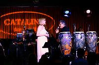 LOS ANGELES - SEP 25: Carol Weisman, Louie Cruz Beltran at 'Pat Harris' California Democratic U.S. Senate run 2018 kick off' at Catalina Jazz Club Bar & Grill on September 25, 2017 in Hollywood, California