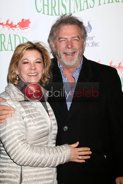 Gail Engvall, Bill Engvall<br /> at the 85th Annual Hollywood Christmas Parade, Hollywood Boulevard, Hollywood, CA 11-27-16<br /> David Edwards/DailyCeleb.com 818-249-4998