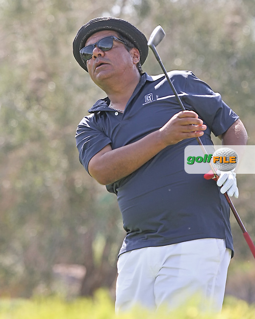 03 OCT 12  George Lopez on the 8th tee during Wednesdays Pro_Am at The TPC at Summerlin in Las Vegas, Nevada.                                          (photo:  kenneth e.dennis / kendennisphoto.com)