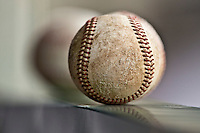 21 May 2009: A ball is seen in the dugout during the 2009 challenge de France, a tournament with the best French baseball teams - all eight elite league clubs - to determine a spot in the European Cup next year, at Montpellier, France.