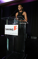 HOLLYWOOD, CA - SEPTEMBER 30: Meagan Tandy, at The 6th Annual Saving Innocence Gala_Insde at Loews Hollywood Hotel, California on September 30, 2017. Credit: Faye Sadou/MediaPunch