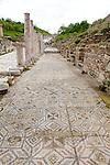 Mosaics & Columns At Ephesus