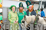 PADDY'S DAY: Kathleen Sheehy, Frank Cronin and Alan Sheehy enjoying the Killorglin St Patrick's Day parade on Saturday...