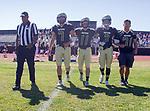 Palos Verdes, CA 09/23/17 - Aidan Kuykendall (Peninsula #7), Jacob Hangartner (Peninsula #11), Zach McGuinness (Peninsula #3) and Andres Park (Peninsula #71)