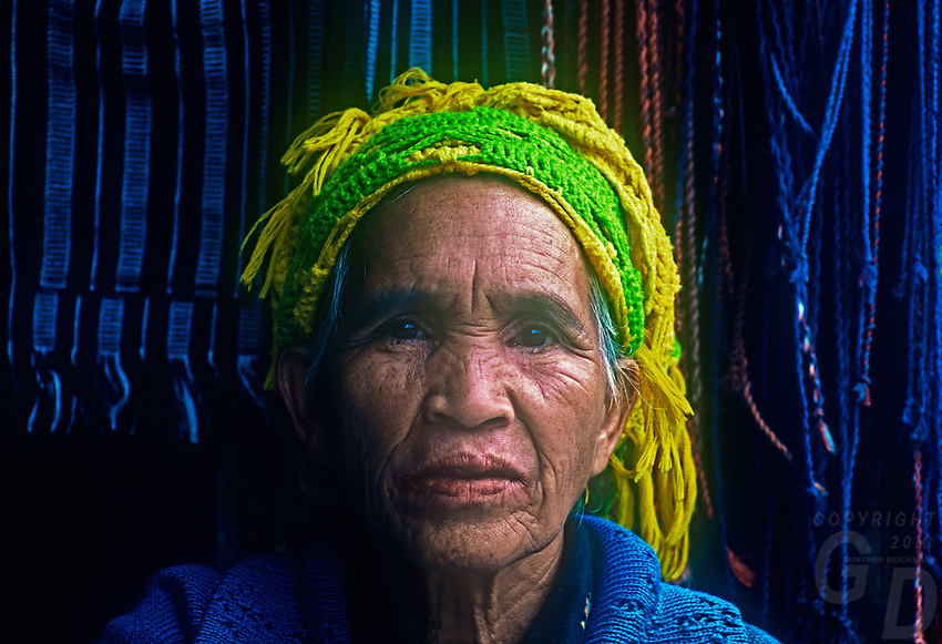 Traditional Ifugao Women, Banaue, Philippine Mountain Province