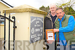 John Quirke and Martin Greenwood launch Keel First meeting of Mens Shed on Tuesday the 29th of April at 11am at Keel GAA Club
