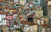 Roofs and tenements, Lisbon, Portugal RESERVED USE - NOT FOR DOWNLOAD -  FOR USE CONTACT TIM GRAHAM