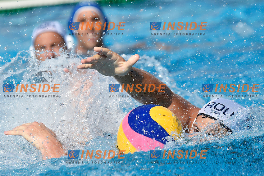 CRETU Andrei Romania <br /> Romania - Italy / Romania - Italia <br /> LEN European Water Polo Championships 2014<br /> Alfred Hajos -Tamas Szechy Swimming Complex<br /> Margitsziget - Margaret Island<br /> Day02 - July 15 <br /> Photo A.Staccioli/Insidefoto/