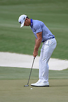 Billy Horschel (USA) sinks his putt on 11 during round 3 of The Players Championship, TPC Sawgrass, at Ponte Vedra, Florida, USA. 5/12/2018.<br /> Picture: Golffile | Ken Murray<br /> <br /> <br /> All photo usage must carry mandatory copyright credit (&copy; Golffile | Ken Murray)