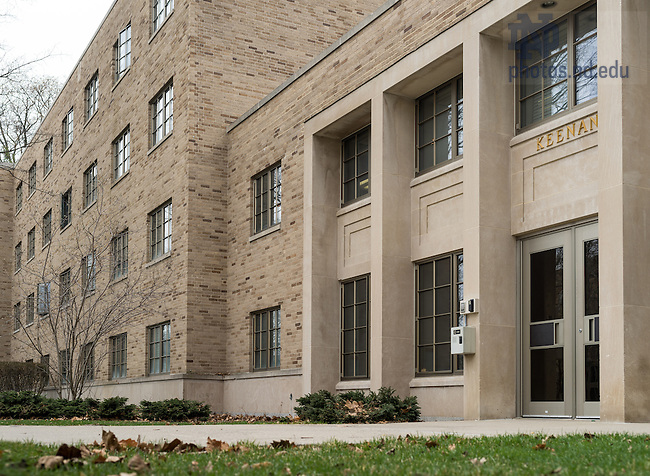 Apr. 8, 2015; Keenan Hall. (Photo by Matt Cashore/University of Notre Dame)