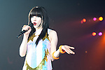 November 8, 2012, Tokyo, Japan - Carly Rae Jepsen performs on the catwalk during Girls Award 2012 Autumn/Winter at the Yoyogi National Gymnasium in Shibuya, Japan. She sang ''Call Me Maybe?''. (Photo by Yumeto Yamazaki/Nippon News)