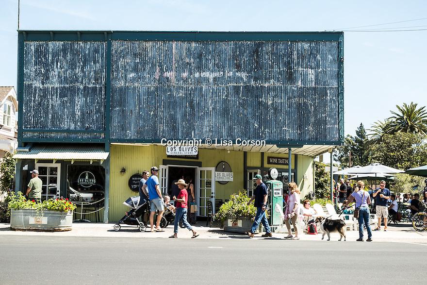 Los Olivos General Store in Los Olivos, California.