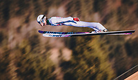 1st January 2020, Olympiaschanze, Garmisch Partenkirchen, Germany, FIS World cup Ski Jumping, 4-Hills competition; Daniel Andre Tande of Norway during his competition Jump for the Four Hills Tournament
