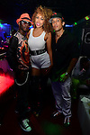 HOLLYWOOD, FL - NOVEMBER 13: Urban Mystic, Aisha Thalia and YNIQ pose for picture before performing live with a Bigg D. live band at Hollywood Live at Hollywood Live on Thursday November 13, 2014 in Coral Gables, Florida. (Photo by Johnny Louis/jlnphotography.com)