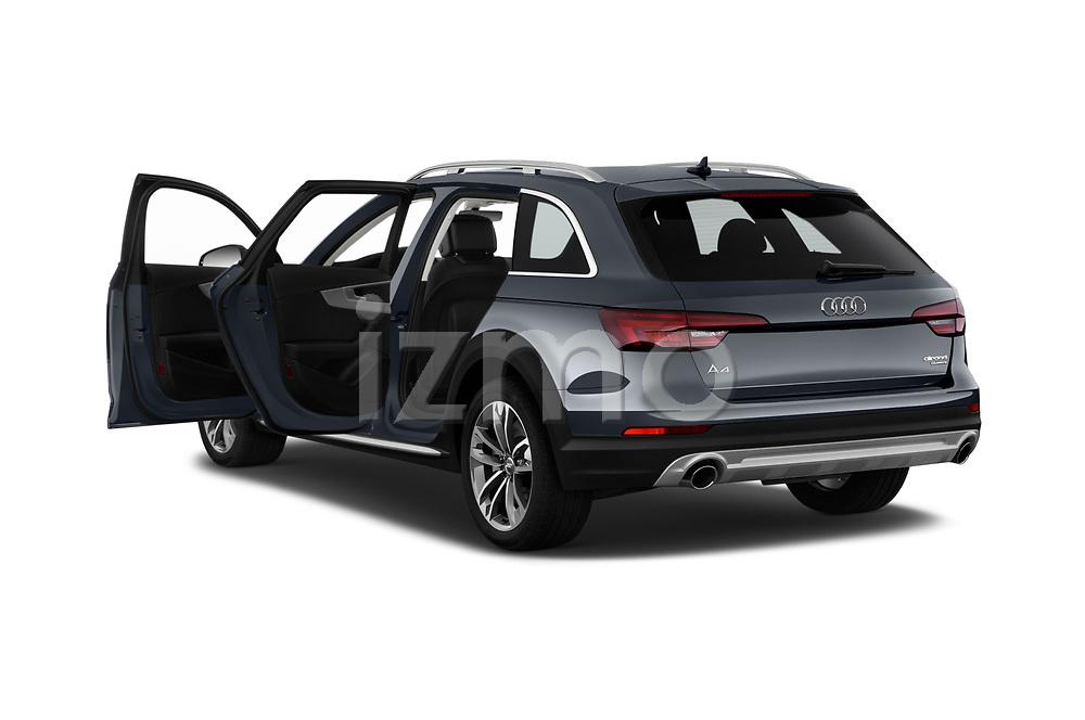 Car images close up view of a 2018 Audi allroad Premium 5 Door Wagon doors