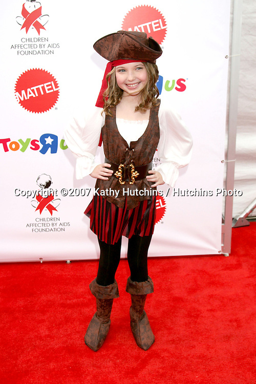 "Sammi Hanratty.""Dream Halloween"" 2007 - Benefitting the charity ""Children Affected by Aids Foundation"".Barker Hanger.Santa Monica,  CA.October 27, 2007.©2007 Kathy Hutchins / Hutchins Photo...               ."