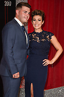 Kym Marsh and son, David<br /> at the British Soap Awards 2017 held at The Lowry Theatre, Manchester. <br /> <br /> <br /> &copy;Ash Knotek  D3272  03/06/2017