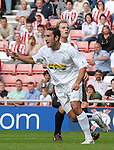 Juventus' Cristian Molinaro wheels away in delight after scoring...Pre-Season Friendly..Sunderland v Juventus..4th August, 2007..--------------------..Sportimage +44 7980659747..admin@sportimage.co.uk..http://www.sportimage.co.uk/