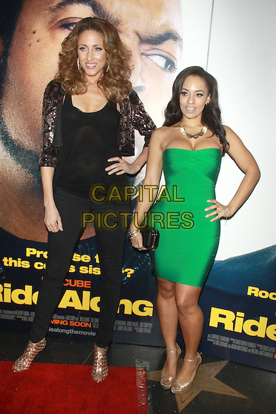 NEW YORK, NY - JANUARY 15: Mica Hughes and Melyssa Ford at the 'Ride Along' screening at AMC Loews Lincoln Square on January 15, 2014 in New York City.  <br /> <br /> CAP/MPI/RW<br /> &copy;RW/ MediaPunch/Capital Pictures