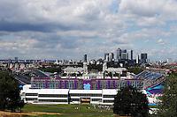 LONDRES, INGLATERRA, 30 JULHO 2012 - OLIMPIADAS 2012 - CROSS COUNTRY - Vista da arena equitacao durante a prova do Cross Country nas  Olimpiadas de Londres, nesta segunda-feira, 30. (FOTO: PIXATHLON / BRAZIL PHOTO PRESS).