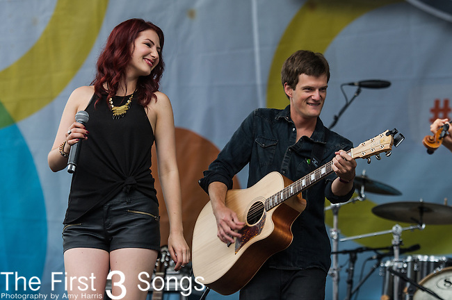 Katie Armiger performs on Day One of the 2014 CMA Music Festival in Nashville, Tennessee.