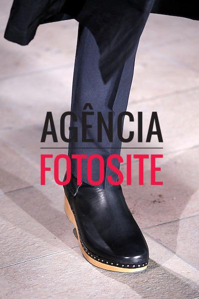 Paris, Franca &ndash; 06/2014 - Desfile de Maison Martin Margiela durante a Semana de moda masculina de Paris - Verao 2015. <br /> Foto: FOTOSITE