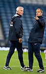 Holland coach Bert van Marwijk with assistant Frank de Boer