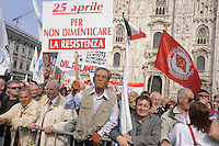 - demonstration of April 25, anniversary of Italy's Liberation from the nazifascism....- manifestazione del 25 aprile, anniversario della Liberazione dell'Italia dal nazifascismo