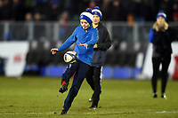 A general view of the half-time crossbar challenge. European Rugby Champions Cup match, between Bath Rugby and RC Toulon on December 16, 2017 at the Recreation Ground in Bath, England. Photo by: Patrick Khachfe / Onside Images