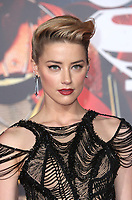 LOS ANGELES, CA - NOVEMBER 13: Amber Heard at the Justice League film Premiere on November 13, 2017 at the Dolby Theatre in Los Angeles, California. Credit: Faye Sadou/MediaPunch