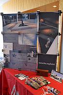 TKE marketing materials on display.