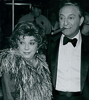 Danny Thomas &amp; Rose Marie Mantell 1977<br /> Photo By John Barrett-PHOTOlink.net / MediaPunch