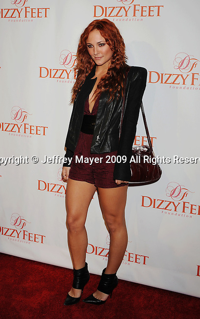 HOLLYWOOD, CA. - November 29: Briana Evigan arrives at the Dizzy Feet Foundation's Inaugural Celebration Of Dance at the Kodak Theatre on November 29, 2009 in Hollywood, California.