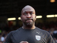 West Bromwich Albion's Darren Moore <br /> <br /> Photographer Mick Walker/CameraSport<br /> <br /> The EFL Sky Bet Championship - Nottingham Forest v West Bromwich Albion - Tuesday August 7th 2018 - The City Ground - Nottingham<br /> <br /> World Copyright &copy; 2018 CameraSport. All rights reserved. 43 Linden Ave. Countesthorpe. Leicester. England. LE8 5PG - Tel: +44 (0) 116 277 4147 - admin@camerasport.com - www.camerasport.com