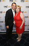 Anthony Wilkinson and Faith Hope Consolo attends the cocktail party for the Dramatists Guild Foundation 2018 dgf: gala at the Manhattan Center Ballroom on November 12, 2018 in New York City.