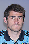 01.06.2012. Telecinco presents its official schedule for the transmission of Eurocup 2012 to the Ciudad del Futbol of Las Rozas, Madrid. In the image Iker Casillas (Alterphotos/Marta Gonzalez)