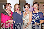 Charlotte Dolan Catherine McDonnell Helen O'Carroll and Deirdre Gaudino Pictured at the Enable Ireland Ladies Lunch and Fashion Show at the Earl of Desmond hotel Tralee on Friday.