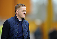 Birmingham City manager Garry Monk<br /> <br /> Photographer Ashley Crowden/CameraSport<br /> <br /> The EFL Sky Bet Championship - Wolverhampton Wanderers v Birmingham City - Sunday 15th April 2018 - Molineux - Wolverhampton<br /> <br /> World Copyright &copy; 2018 CameraSport. All rights reserved. 43 Linden Ave. Countesthorpe. Leicester. England. LE8 5PG - Tel: +44 (0) 116 277 4147 - admin@camerasport.com - www.camerasport.com