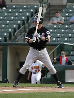 May 26, 2004:  Craig Brazell of the Norfolk Tides, Triple-A International League affiliate of the New York Mets, during a game at Frontier Field in Rochester, NY.  Photo by:  Mike Janes/Four Seam Images