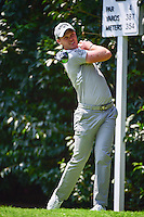 Danny Willett (ENG) watches his tee shot on 2 during round 1 of the World Golf Championships, Mexico, Club De Golf Chapultepec, Mexico City, Mexico. 3/2/2017.<br /> Picture: Golffile | Ken Murray<br /> <br /> <br /> All photo usage must carry mandatory copyright credit (&copy; Golffile | Ken Murray)