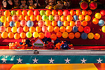 Evergreen State Fair boardwalk with games